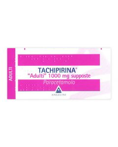 TACHIPIRINA ADULTI 10SUPPOSTE 1000MG ANGELINI