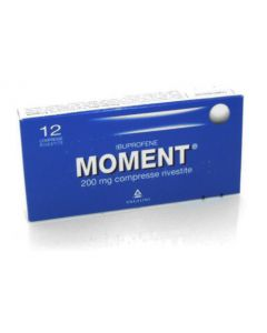 MOMENT 12 COMPRESSE RIVESTITE 200MG