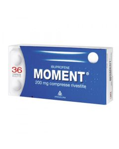 MOMENT 36COMPRESSE RIVESTITE 200MG