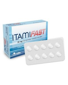 ITAMIFAST*10CPR RIV 25MG