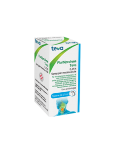 FLURBIPROFENE SPRAY 0.25% 15ML