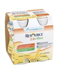RESOURCE 2,0 + FIBRE VANIGLIA 200 ML