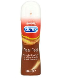 GEL LUBRIFICANTE DUREX NEW GEL REAL FEEL 50 ML