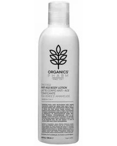 ORGANICS PHARM ANTIAGE BODY LOTION GREEN TEA AND WITCH HAZEL