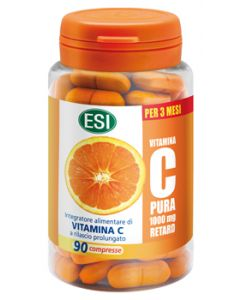 VITAMINA C PURA 1000 MG RETARD 90 COMPRESSE
